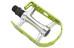 XLC Ultralight V PD-M15 Pedale MTB/ATB silber/limegreen